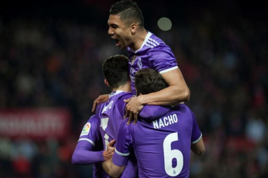 Cristiano Ronaldo había adelantado al Madrid por la vía del penal. (Foto: AFP)