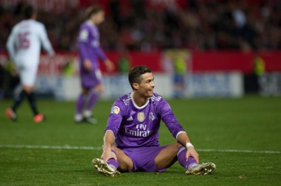 Cristiano Ronaldo también lamentó la derrota. (Foto: AFP)