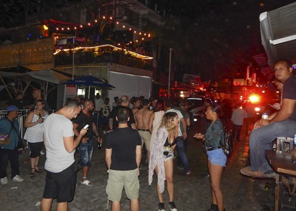 El sanguinario grupo Los Zetas se reivindicó el ataque armado en la fiesta de Playa del Carmen, México. (Foto: AFP)