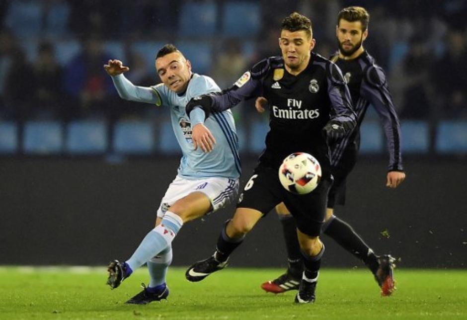 El Real Madrid no pudo contra el Celta de Vigo. (Foto: AFP)