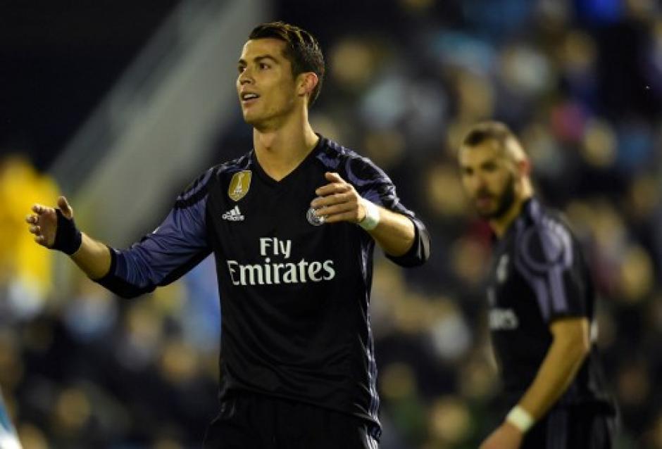 Cristiano Ronaldo no pudo aportar mucho. (Foto: AFP)