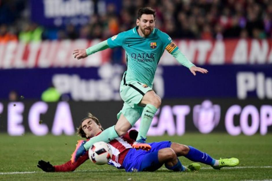 Messi volvió a ser el conductor del Barcelona.  (Foto: AFP)