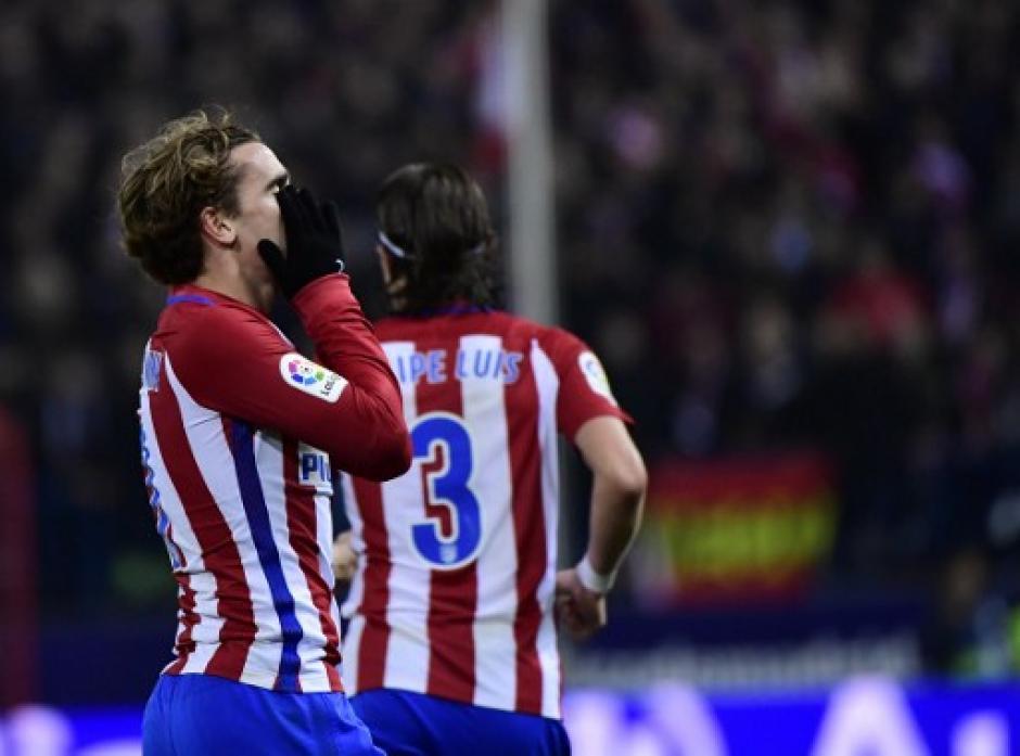 Los del Atlético no pudieron contra el Barcelona.  (Foto: AFP)