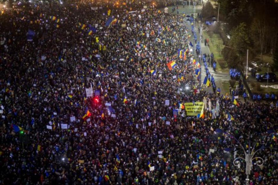 La cifra más alta ha sido de alrededor de medio millón de manifestantes el pasado domingo 5 de febrero. (Foto: AFP)