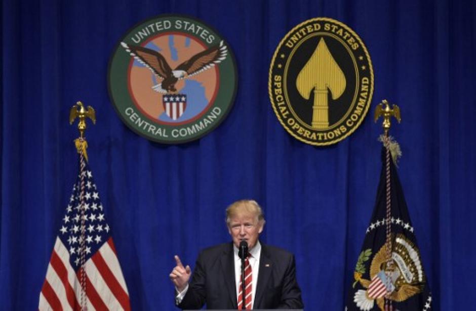 Donad Trump asumió fue juramentado como presidente de los Estados Unidos el 20 de enero recién pasado. (Foto: AFP)