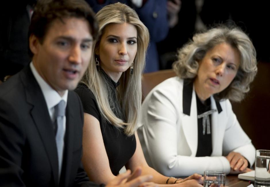 La reunión trataba temas sobre emprendimiento y liderazgo. (Foto: AFP)