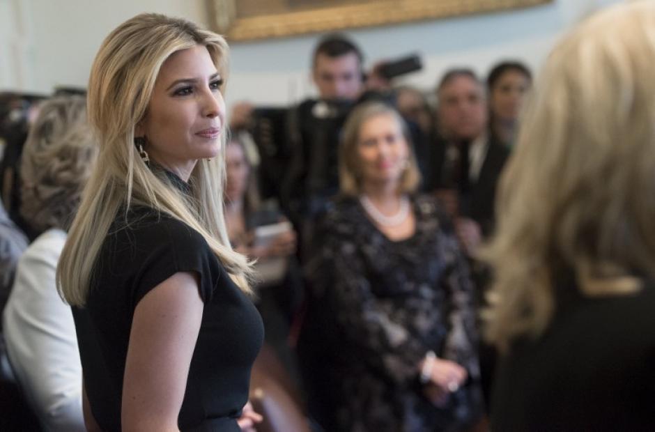 La hija del presidente Donald Trump es una de las representantes de los emprendedores en EE.UU. (Foto: AFP)
