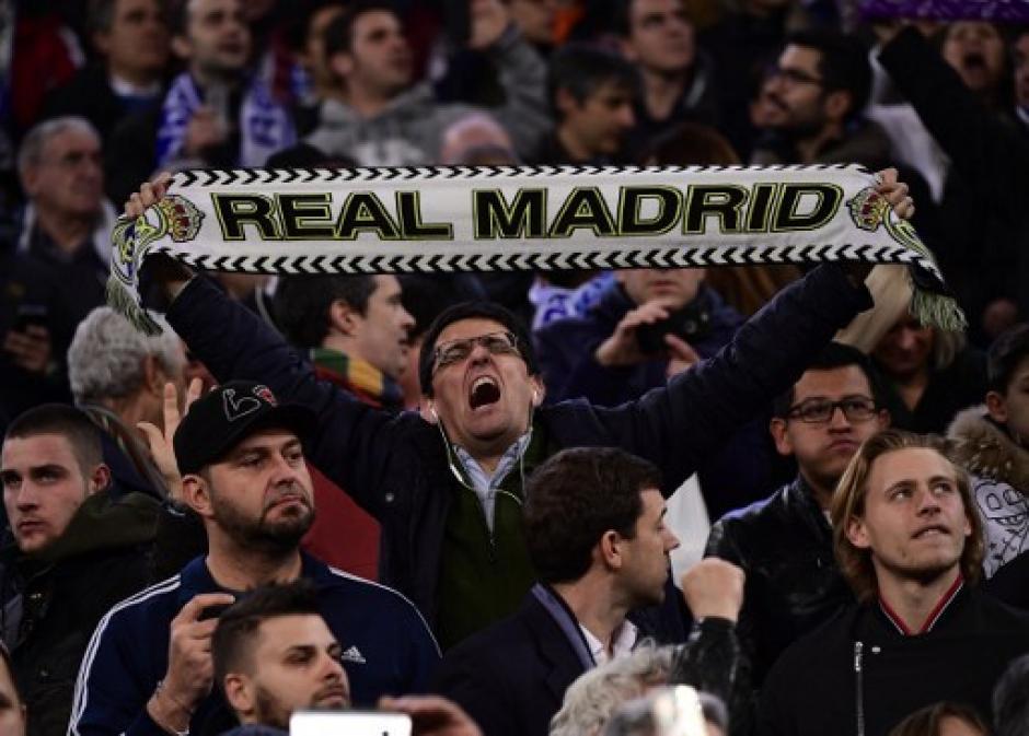 El juego se celebró en el estadio Santiago Bernabéu. (Foto: AFP)