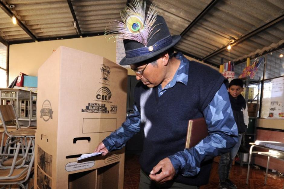En contienda hay cuatro candidatos, pero solo dos son los favoritos. (Foto: AFP)