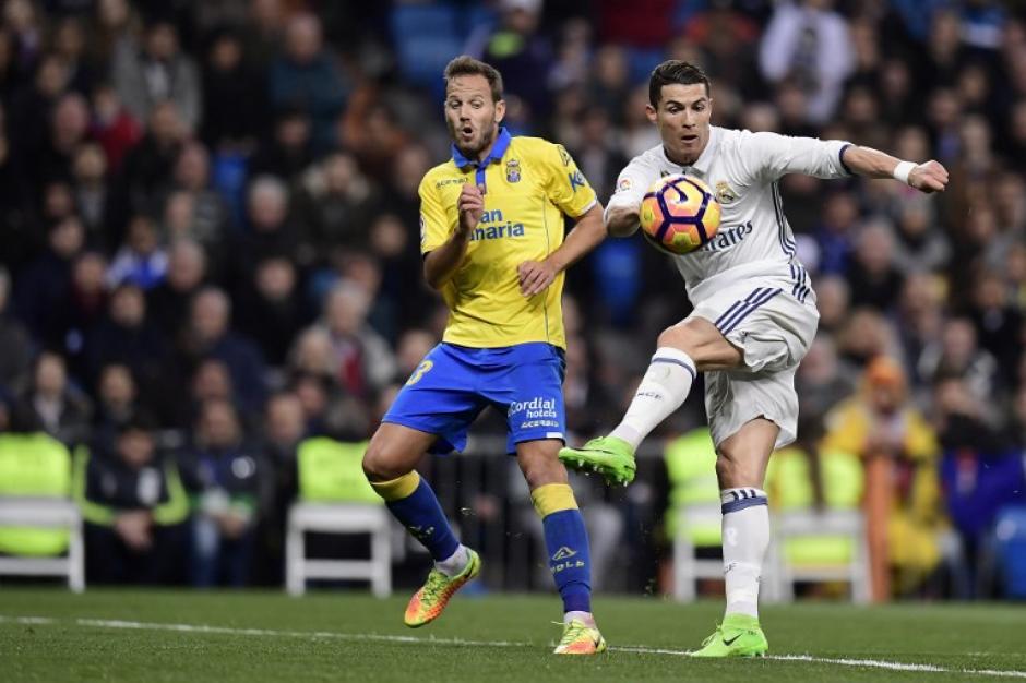 El Real Madrid no pudo en casa ante Las Palmas. (Foto: AFP)