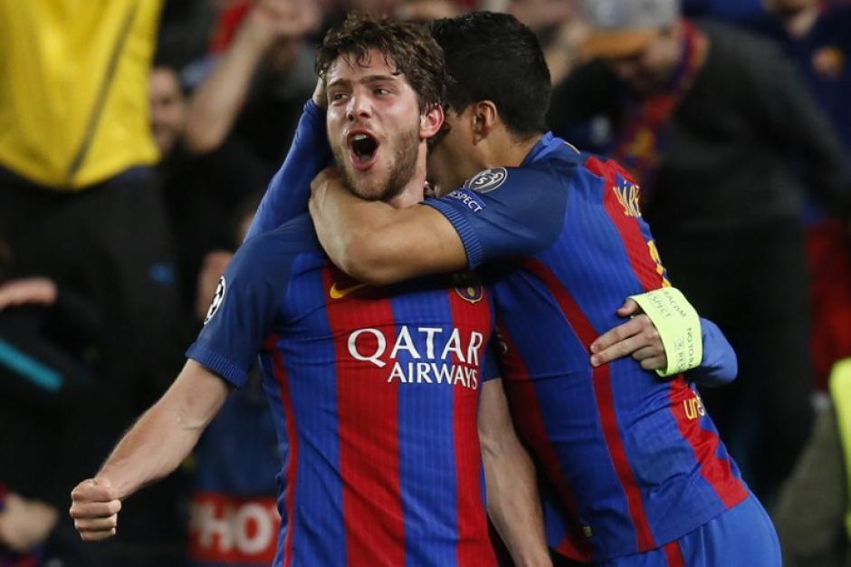 El Barcelona logró una remontada épica para avanzar a cuartos de final. (Foto: AFP)