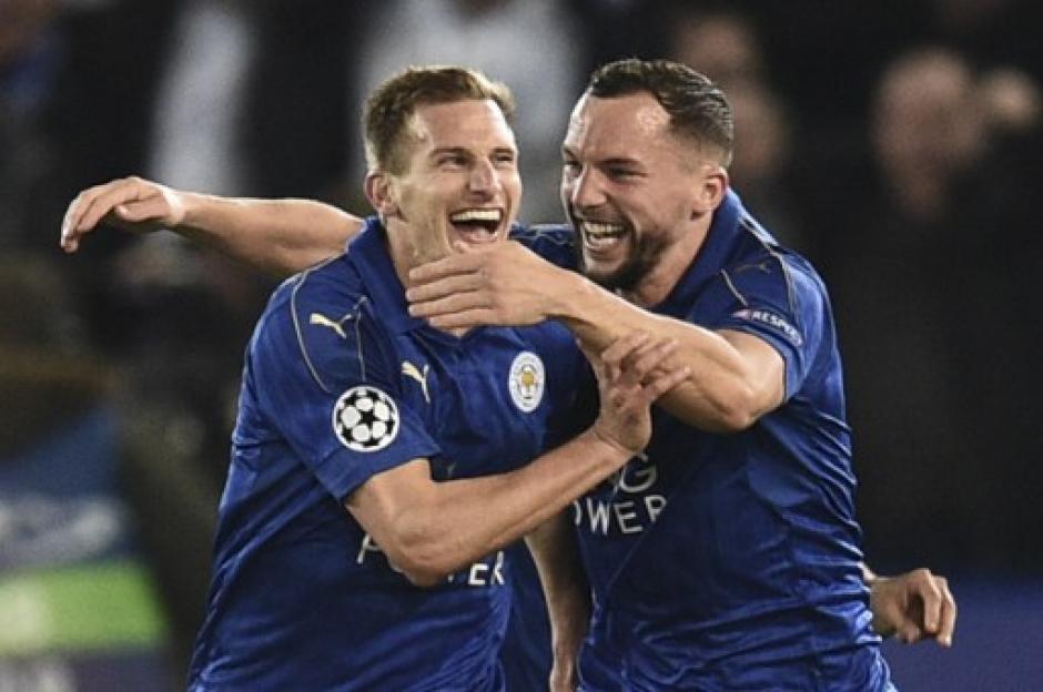 El Leicester City elimina al Sevilla de la Champions. (Foto: AFP)