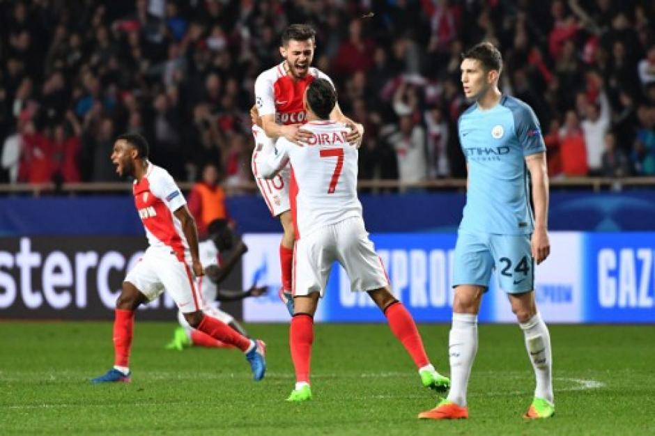 El Mónaco eliminó al Manchester City. (Foto: AFP)