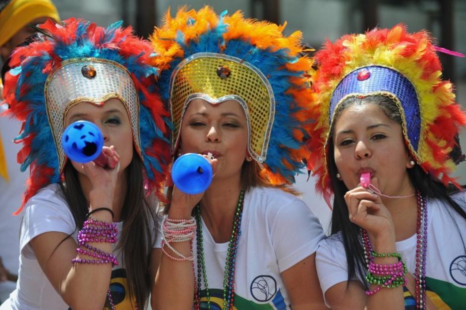 Unos 600 mil visitantes extranjeros dirán presente en Brasil, durante la Copa del Mundo. (Foto: AFP)