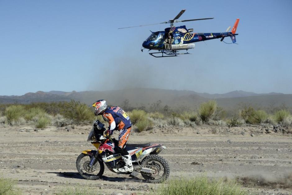Marc Coma es el líder de la categoría de motos tras 6 etapas recorridas en el Rally Dakar 2014