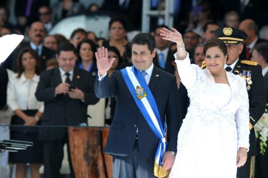 Juan Orlando Hernández, obtuvo el 36% de votos en las pasadas elecciones. Foto:LaPrensa.hn