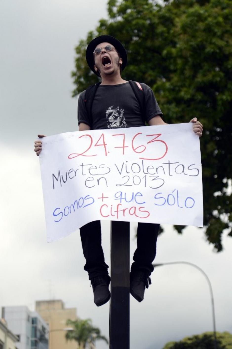 La crisis en Venezuela se agravó en los últimos, después de dos semanas de protestas contra el Gobierno de Maduro. Foto:AFP