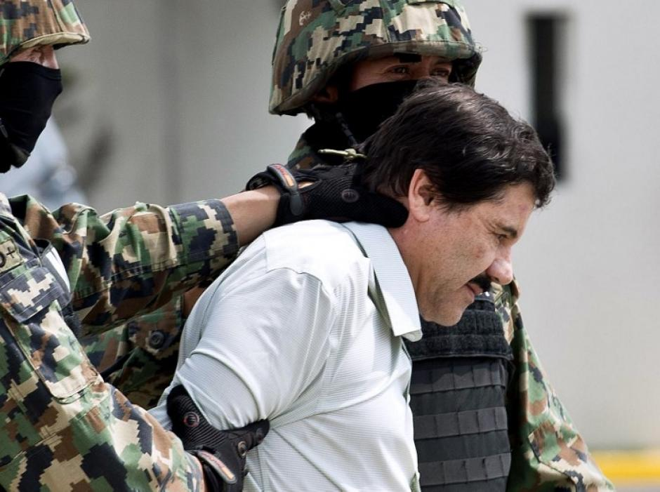 """Joaquín """"El Chapo"""" Guzmán fue capturado el sábado 22 de febrero en un hotel de Mazatlán, Sinaloa"""