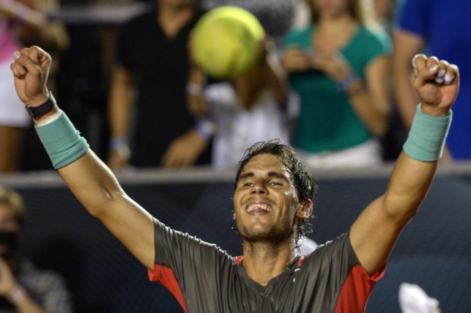 El último título conseguido por Nadal fue en el Abierto de Río de Janeiro