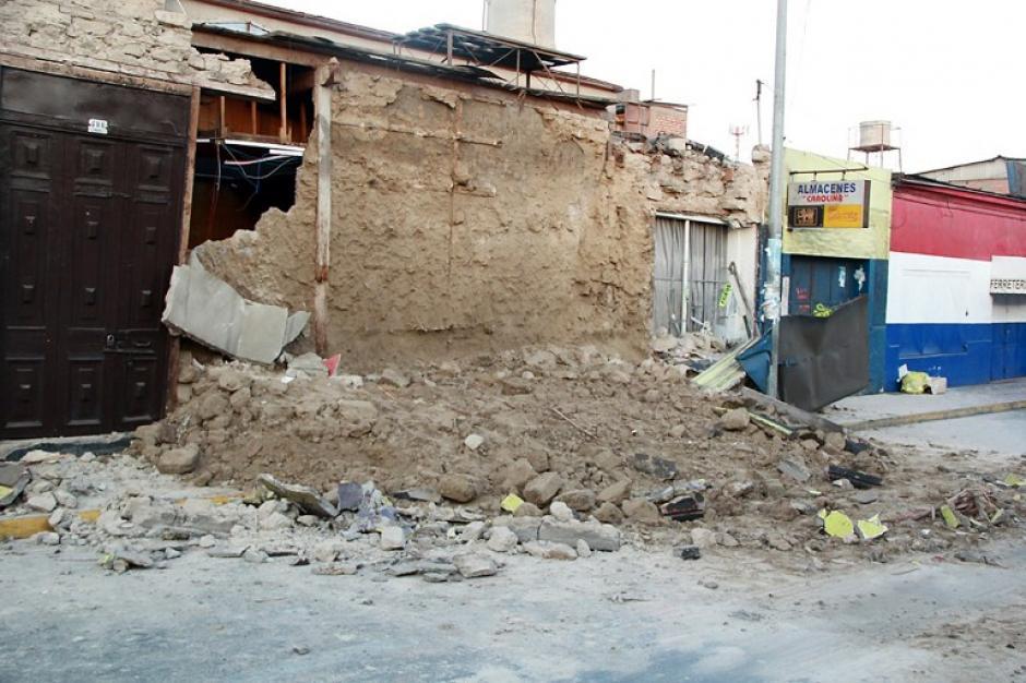En Iquique, la ciudad más cercana al epicentro del sismo, y en la aledaña Alto Hospicio, fallecieron cinco hombres y una mujer. (Foto: AFP)