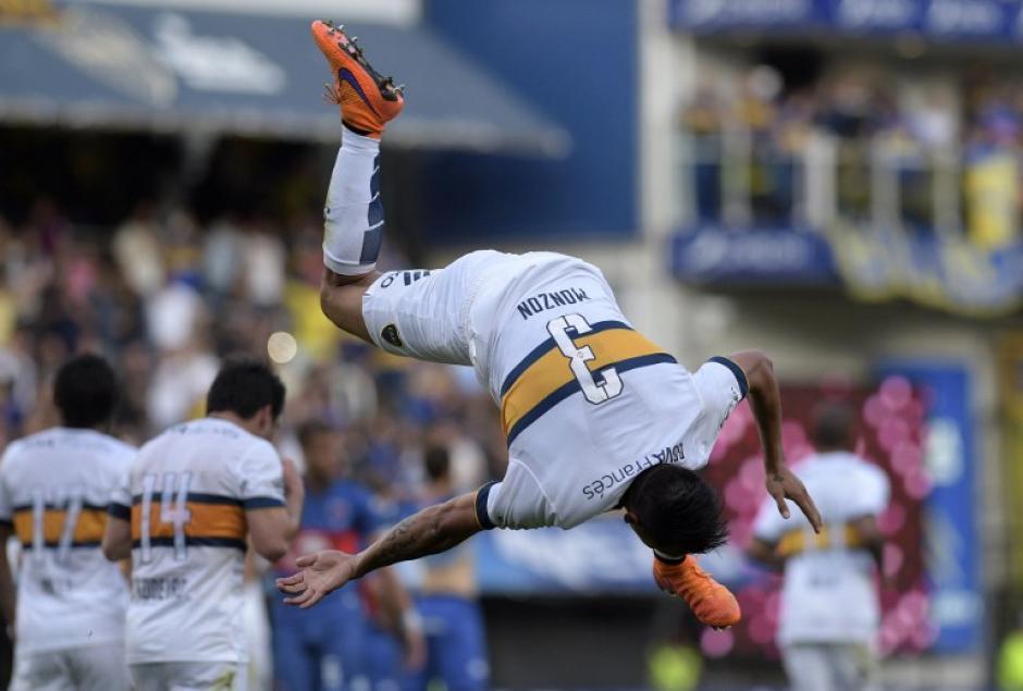 Monzón fue el único anotador del gol ante Tigres. (Foto: AFP)
