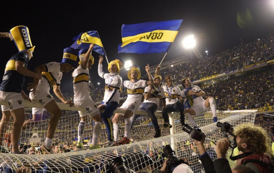 Boca Juniors celebró un título que no conseguía desde el 2011. (Foto: AFP)