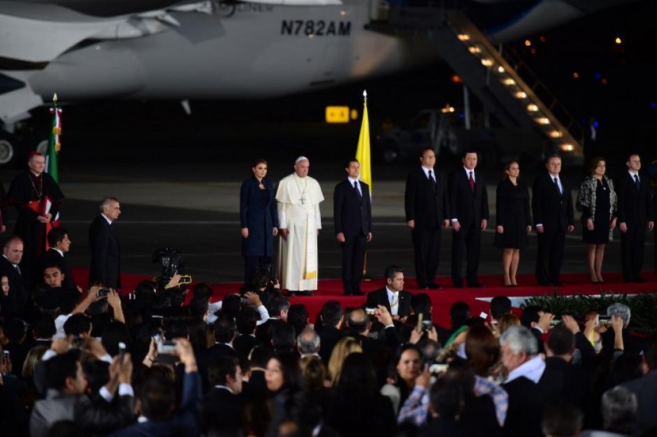 El papa Francisco partió de Ciudad Juárez al Vaticano. (Foto: AFP)
