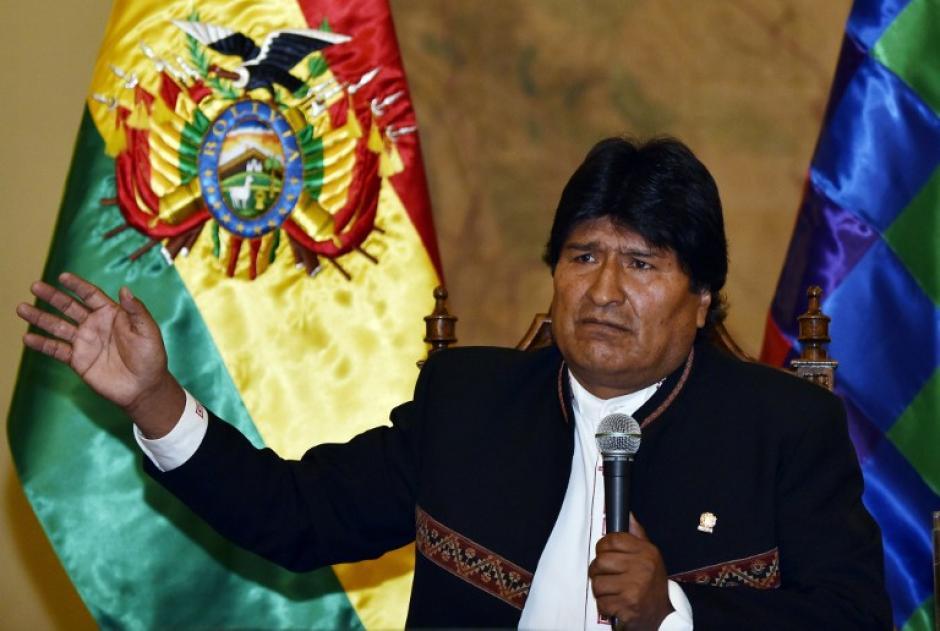 El presidente de Bolivia, Evo Morales esperará los resultados finales para darse por vencido. (Foto: AFP