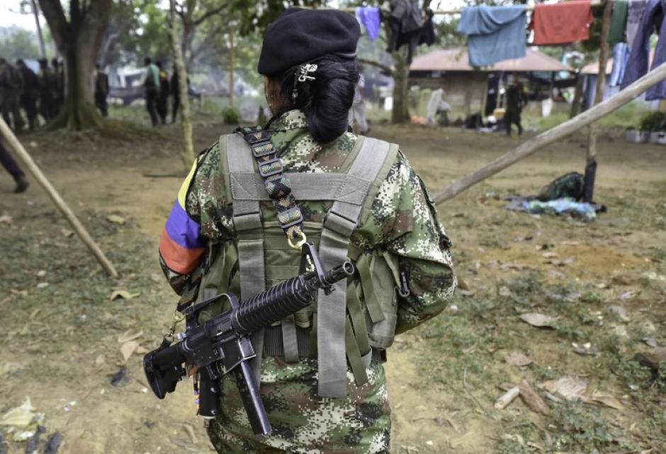 En Colombia, entre un 40 y 50% de guerrilleros son mujeres. (Foto: AFP)
