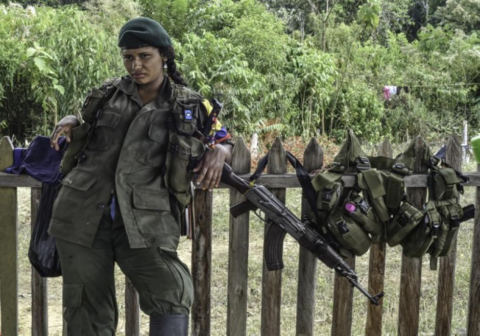 Algunas mujeres guerrilleras han optado por dar a luz en las montañas colombianas. (Foto: AFP)
