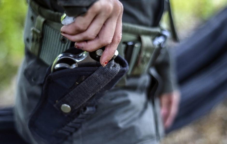 Las mujeres comparten las mismas responsabilidades que los hombres en la insurgencia. (Foto: AFP)
