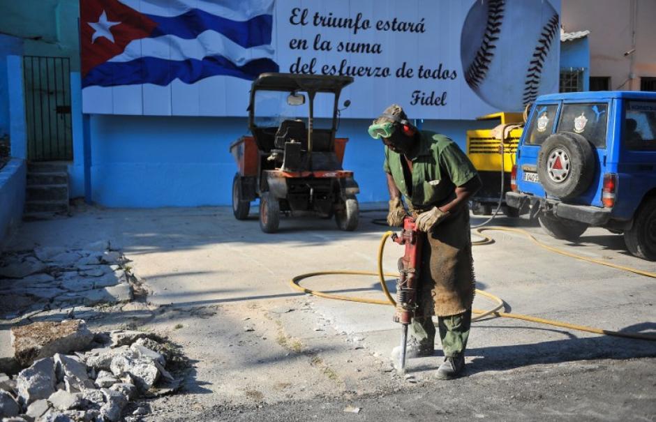 Los arreglos también incluyen el mejoramiento de las calles. (Foto: AFP)