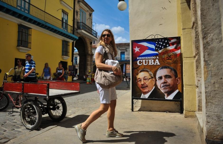 Los cubanos se preparan para darle la bienvenida al presidente de Estados Unidos en una visita histórica en las últimas décadas. (Foto: AFP)