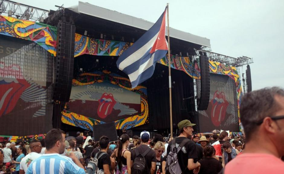 Este será el primer recital que los Rolling Stones ofrezcan en Cuba. (Foto: AFP)