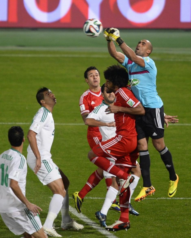 El Raja Casablanca poco pudo hacer durante el partido, dominado por los del Bayern de comienzo a fin. (Foto: AFP)