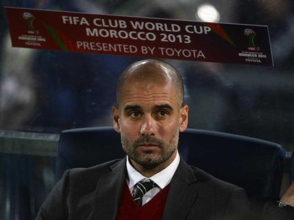 Pep Guardiola, entrenador del Bayern Munich, ganó su tercer título en un Mundial de Clubes, esta vez con el equipo alemán. (Foto: AFP)