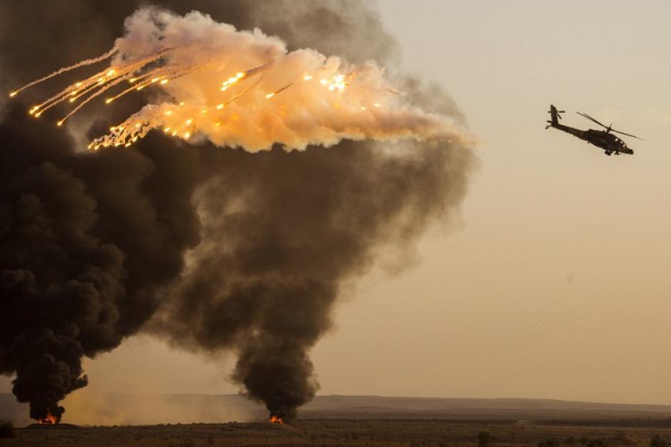 La Fuerza Aérea Israelí es denominada oficialmente Arma del Aire y del Espacio. (AFP)