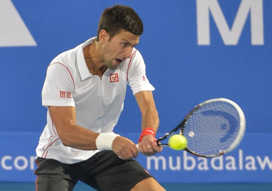 Novak Djokovic, Abu Dabi 2013, ATP, Tenis