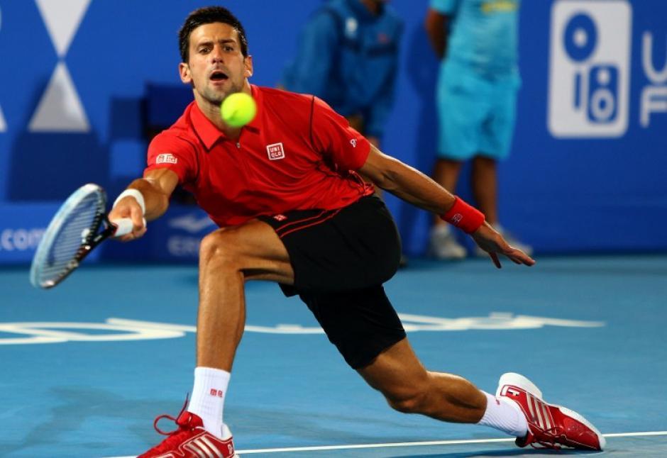 Ganó el torneodespués de imponerse en la final (7-5, 6-2) ante el combativo tenista español David Ferrer. (AFP)