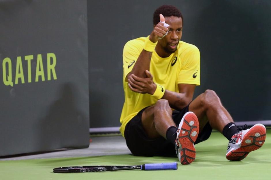 Los fallos en el juego acabaron por condenar a la derrota al francés, que se quedó por tercera vez a las puertas del triunfo en Doha. Foto AFP