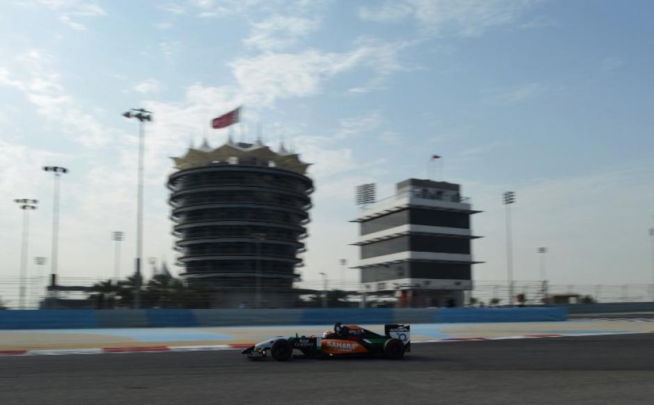 Sergio Pérez, Baréin, F1