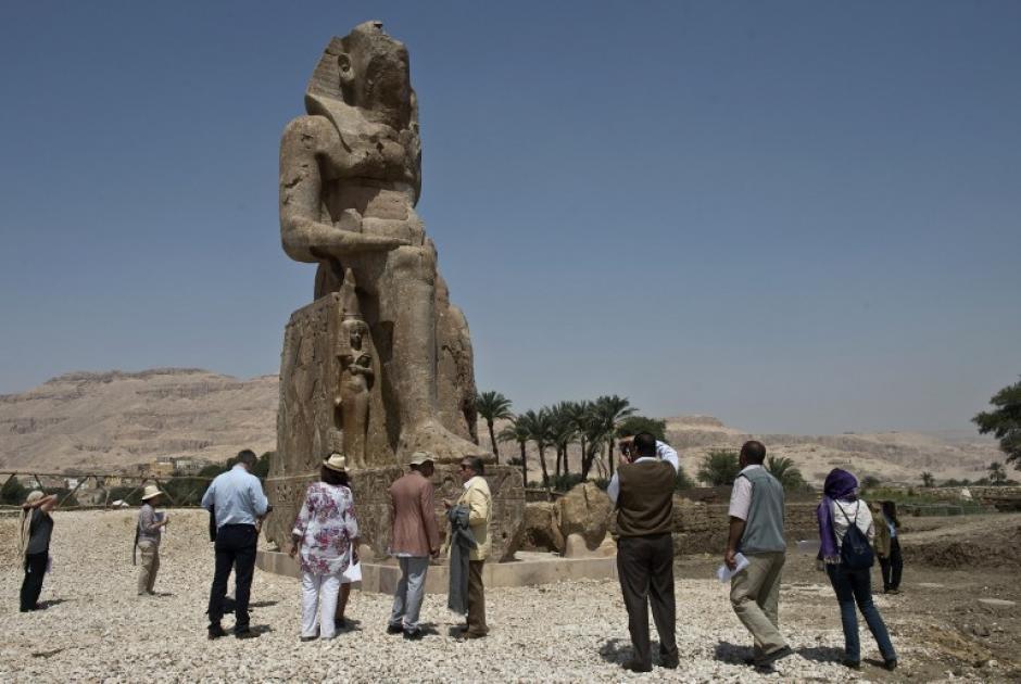"""Amenofis III reinó entre 1390 y 1352 antes de nuestra era, era el padre de Amenofis IV o Akenatón, el """"faraón herético"""". (Foto: AFP)"""