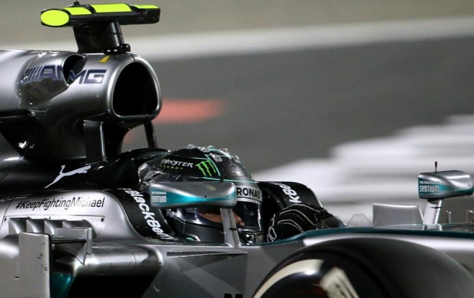 Rosberg tuvo una lucha férrea con su compañero de escudería. (Foto: AFP)