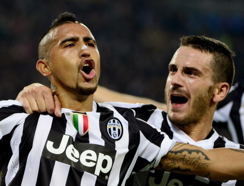 Arturo Vidal es el arma ofensiva de la Juventus
