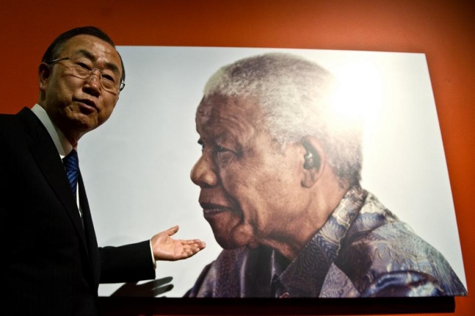 El Secretario General de las Naciones Unidas Ban Ki-Moon