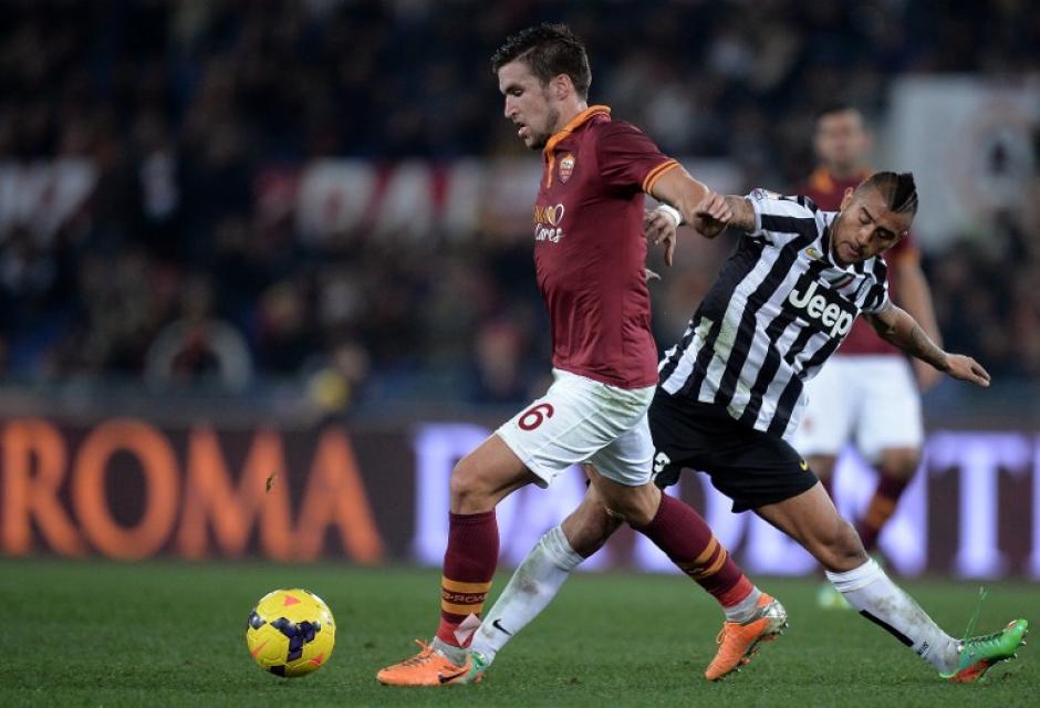 La Roma consiguió el triunfo y dejó fuera de la Copa Italia a la Juventus. (AFP)
