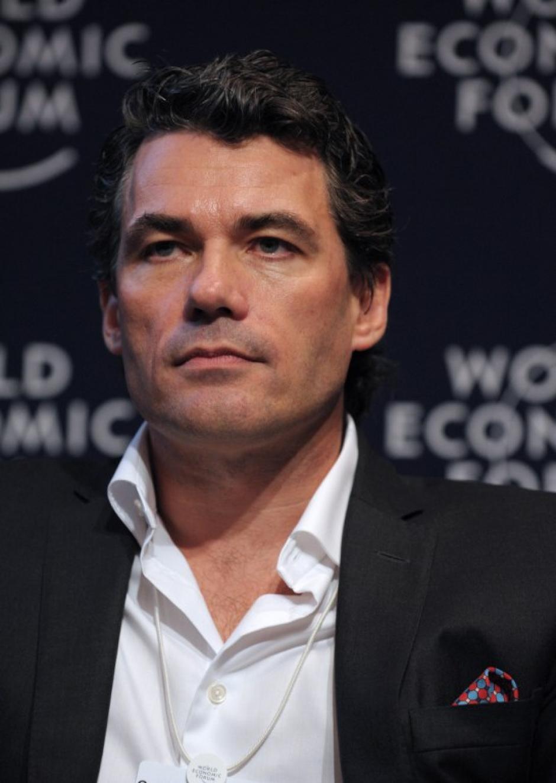 Gavin Patterson, director ejecutivo (CEO) de British Telecom. Foto AFP