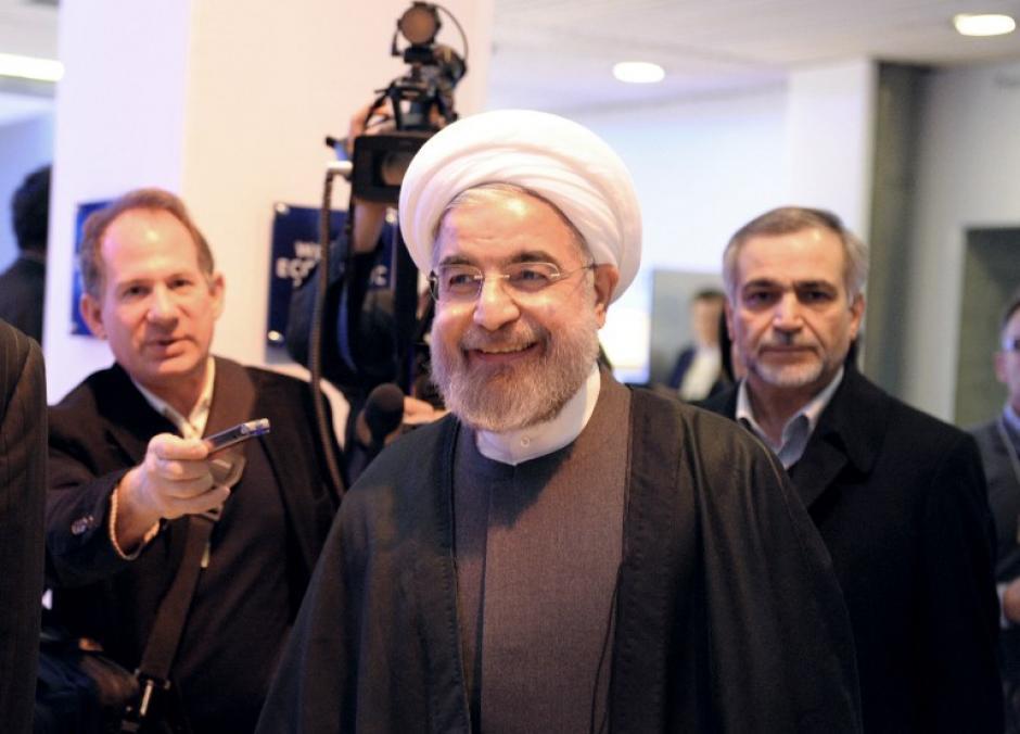 El presidente de Irán Hassan Rouhani. Foto AFP