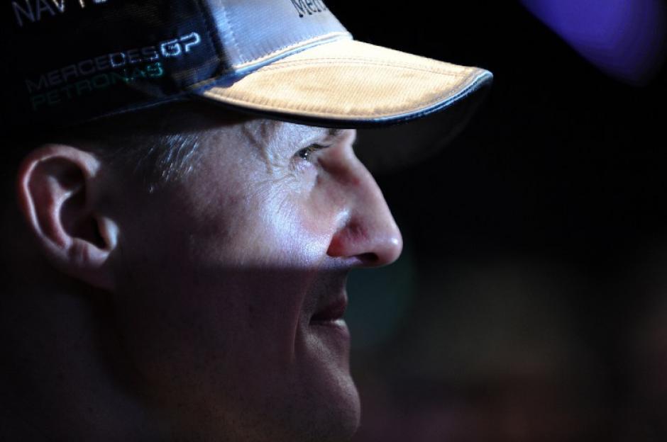 Schumacher sufrió un accidente en diciembre pasado y los médicos esperan despertarlo paulatinamente del coma inducido en el que se encuentra