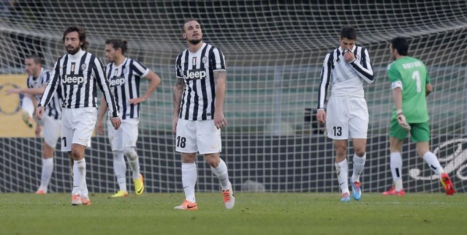Juventus, líder de la Serie A italiana, empató en la última jornada disputada 2-2 ante el Hellas Verona
